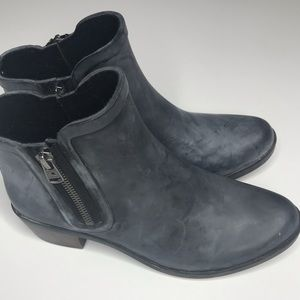 Lucky Brand Basel Rubber Booties Smoke Blue/Gray